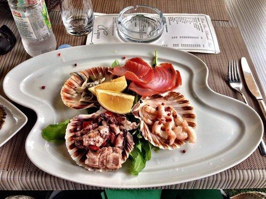 Restaurant Kopun: Seafood platter