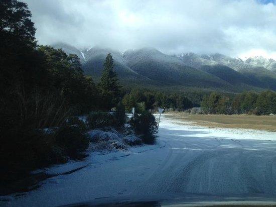 Nelson Lakes National Park: entrance