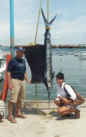 Blue Water Sportfishing: 120 Pound Sailfish!