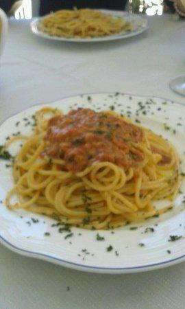 Trattoria El Pescador: Spaghetti con ricci di mare