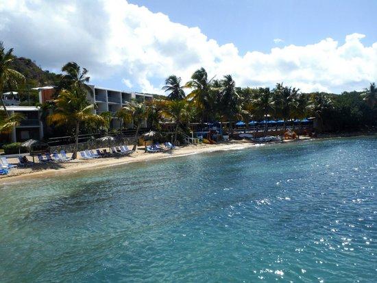 Bolongo Bay Beach Resort: Resort & beach
