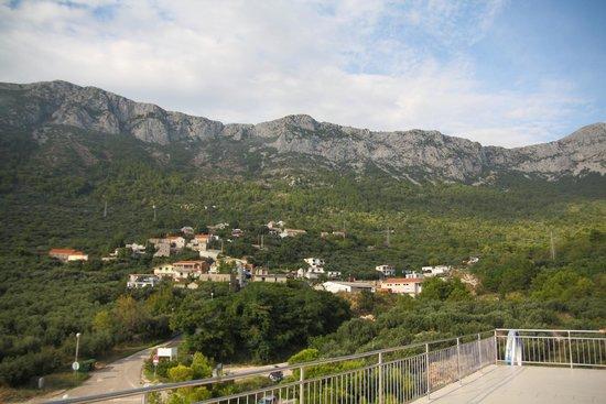 Aparthotel Pecic: Вид на горы со смотровой площадки