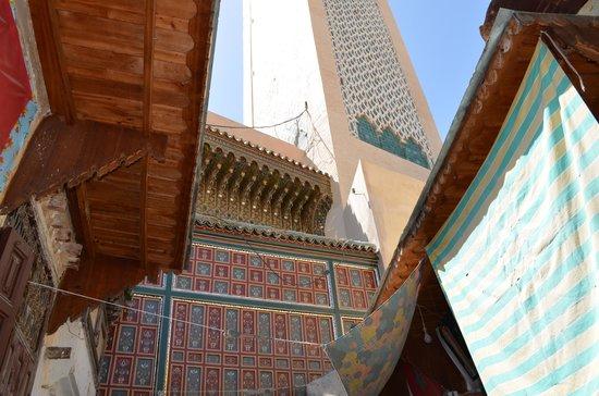 Zaouia of Moulay Idriss II: Una de las puertas