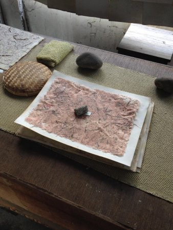 樹火紀念紙博物館: 每季特定工作坊