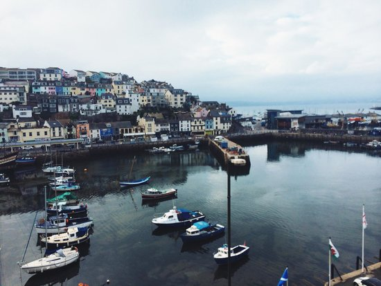 Quayside Restaurant: The view from my parents room