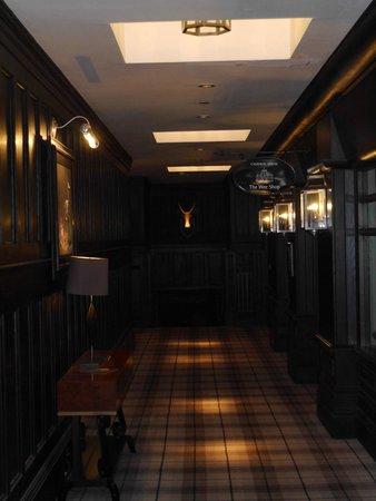 Cameron House on Loch Lomond : Dark Interior at Cameron House