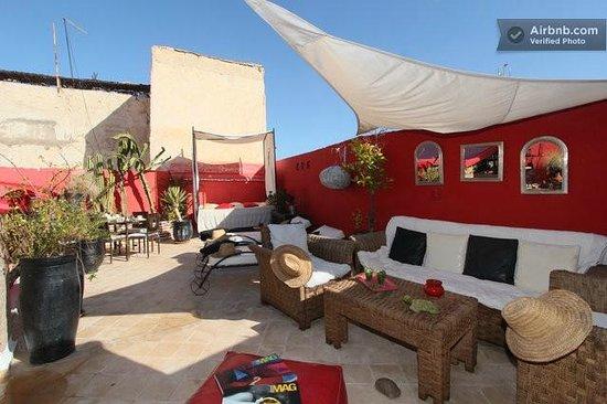 Riad Nejma Lounge: NEW TERRASSE