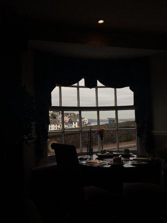 Quayside Restaurant: View for breakfast