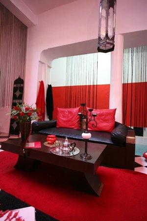 Riad Nejma Lounge: LOUNGE....