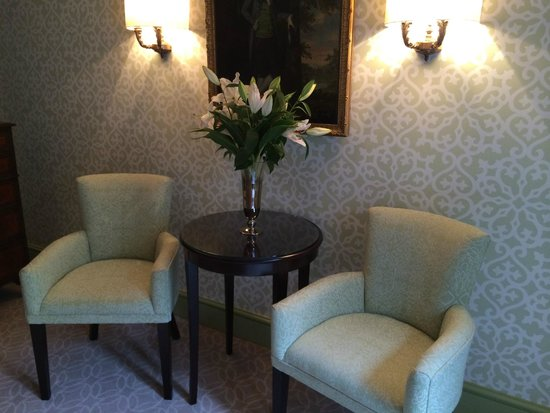 The Royal Crescent Hotel & Spa : Lounge area