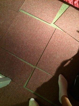 Hotel Residence du Golf : Carpet tiles