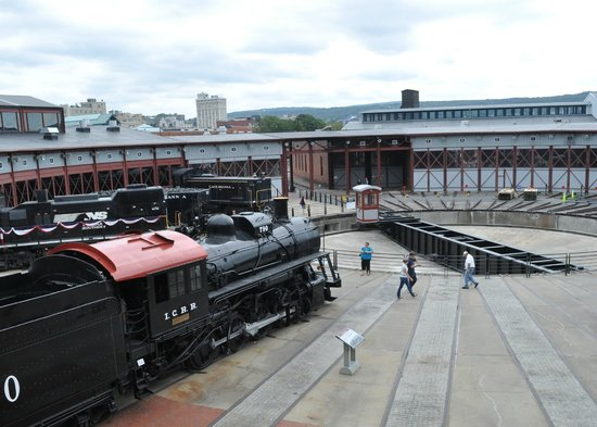Steamtown National Historic Site: Turntable