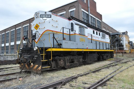 Steamtown National Historic Site: Train