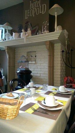 Leopold: Saletta dove si fa colazione