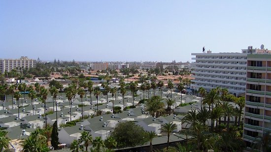 IFA Buenaventura Hotel: view from the top floor