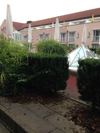 Maximilian Quellness- und Golfhotel: View from room.