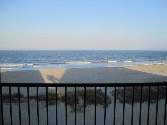 Desoto Beach Hotel: Ocean front view