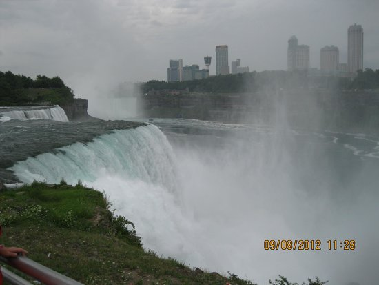 Maid of the Mist: View of Niagara Falls