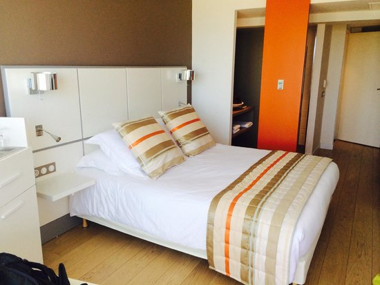 Hotel Le Grand Large: Chambre vue mer