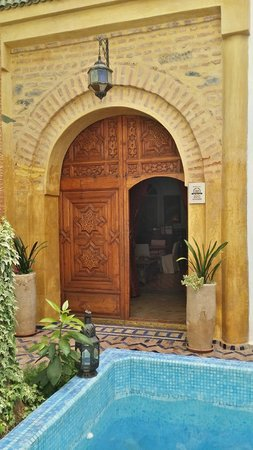Maison Arabo Andalouse: Reception entrance