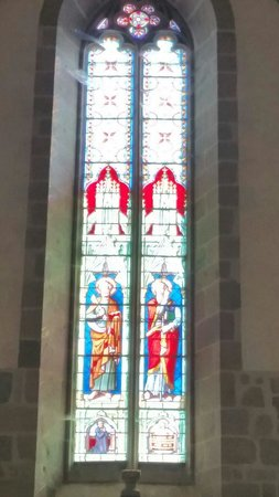 Stained glass windows in Ambazac