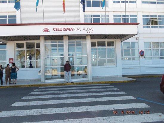Hotel City House Rias Altas: O local do  hotel é muito bom