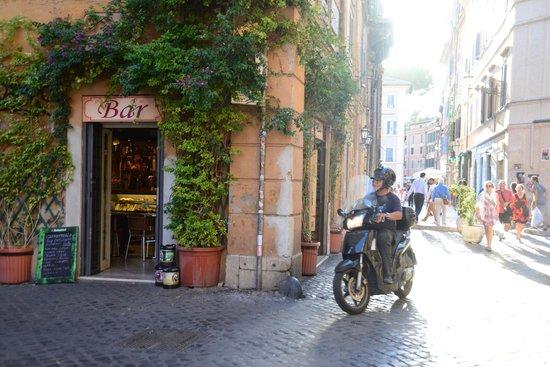 Trastevere : Motos y enredaderas