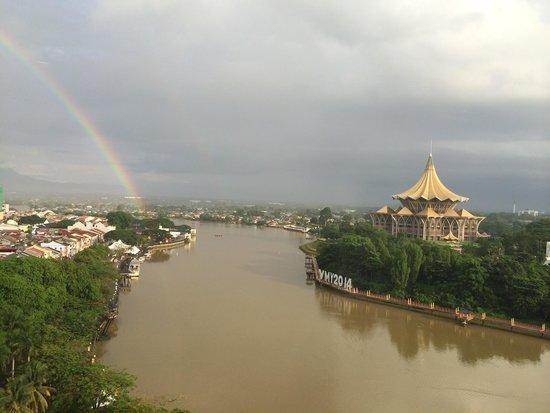 Hilton Kuching : Après la pluie !