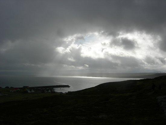 Finnmark, Noorwegen: View Ekkerøy