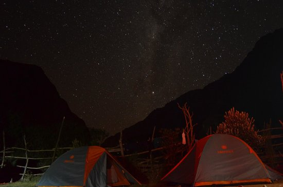Peru Path - Day Tours: THE NIGHT VIEW OF THE SKY DURING THE TREK ON THE INCA TRAIL - adventureperupath.com