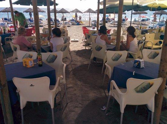 Chiringuito Flores : Comedor playa