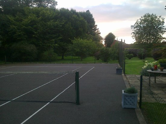 The Coach House: Lovely view from tennis court