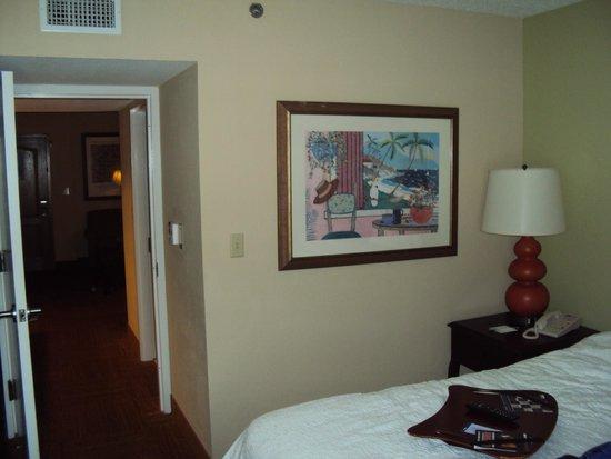 Hampton Inn & Suites San Juan: Taken in Bedroom