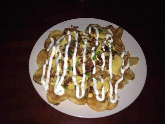 Miss Emily's Cathouse: Loaded potato chips
