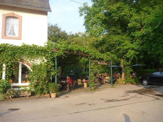 Hotel Weingut Karlsmühle: Außenansicht - Hotel mit Garten