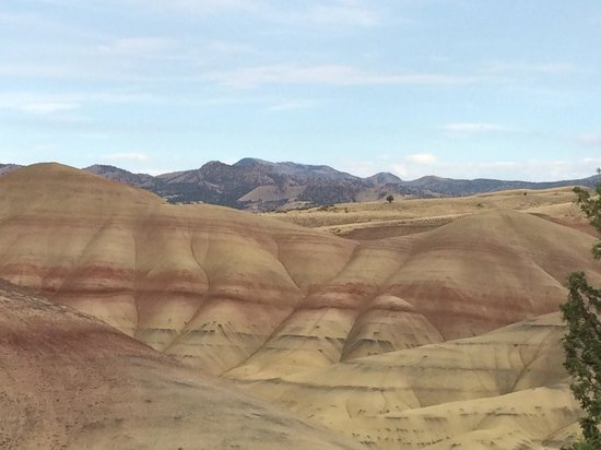 John Day Fossil Beds National Monument: Strations in the rocks