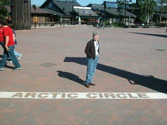 Santa Claus Village: On the Arctic Circle