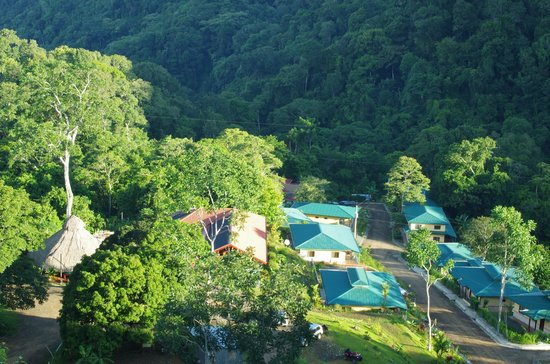 Osa Mountain Rainforest Villas & Adventures: Aerial view