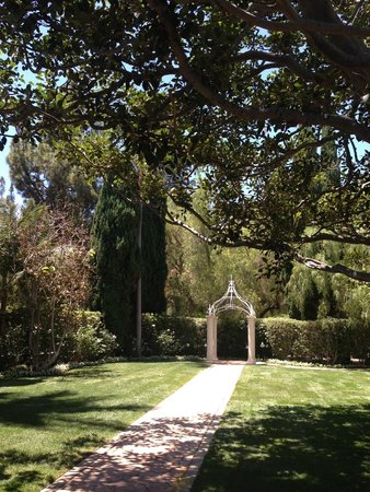 The Beverly Hills Hotel: Wedding Area