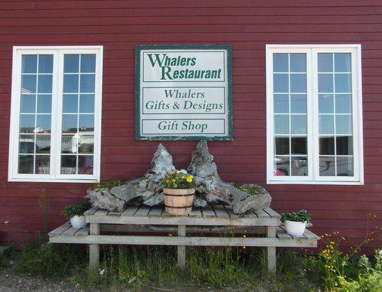 Whalers Restaurant : resturant exterior