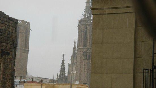 Exe Laietana Palace : Вид из окна