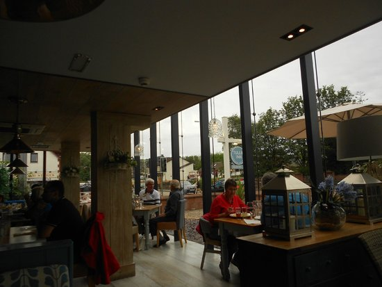Restaurant area at The Tullie Inn