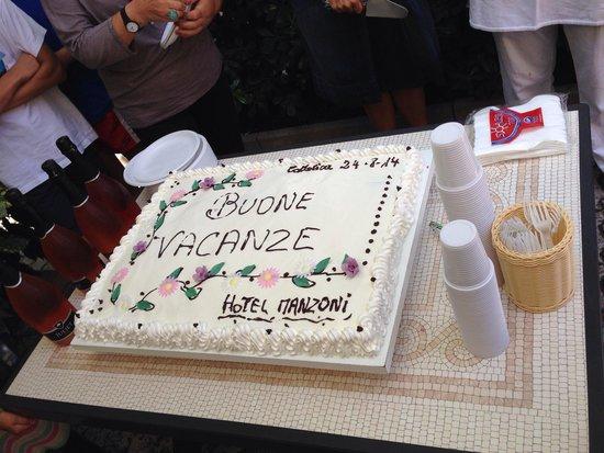 Hotel Manzoni: Torta