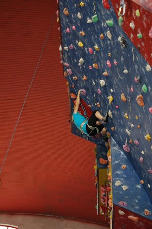 Awesome Walls Climbing Centre Stockport: Supernanny Joan