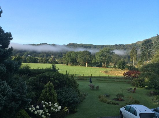 Lake View Country House: Early morning from the Fellside Suite
