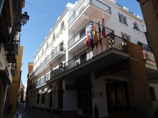 Hotel Fernando III: vue de l'hotel