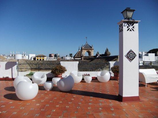 Hotel Fernando III: terrasse sur le toit