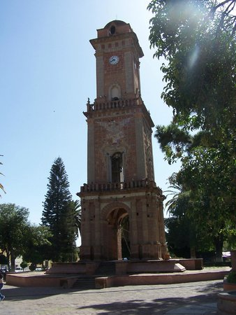 El Torreon de la Plaza de Tecozautla Hidalgo.