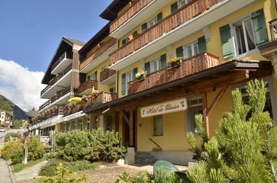 Hotel du Glacier : Hotel de Glacier in champex en Lac, Suisse