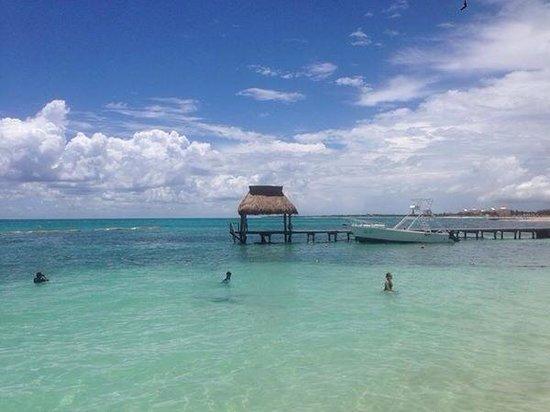 The Grand Bliss Riviera Maya: Swimming dock